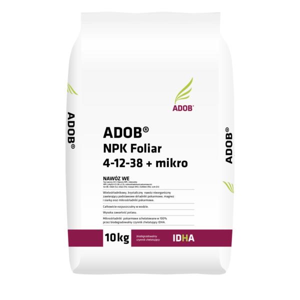 ADOB® NPK Foliar 4-12-38 + mikro