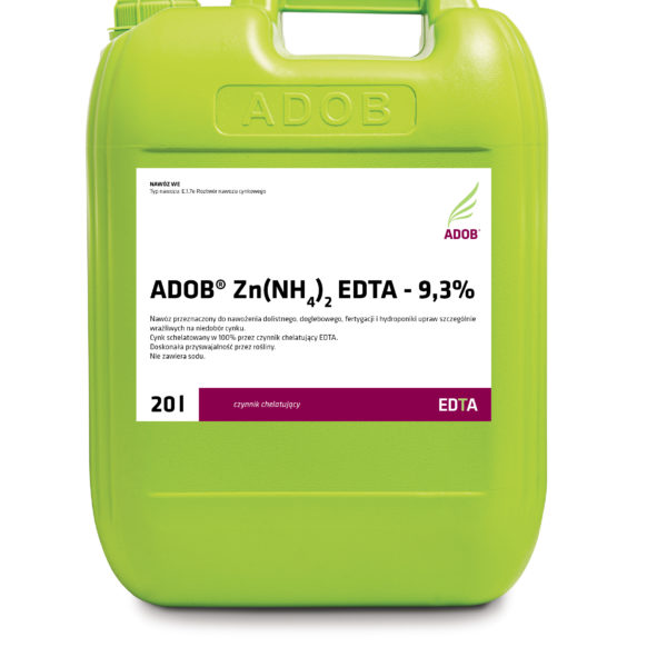ADOB Zn(NH4)2 EDTA – 9,3%