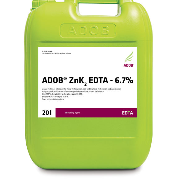 ADOB ZnK2 EDTA – 6.7%