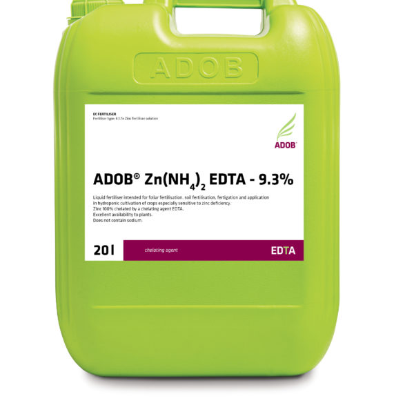 ADOB Zn(NH4)2 EDTA – 9.3%